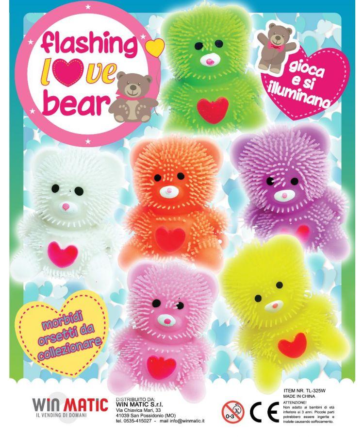 FLASHING LOVE BEARS