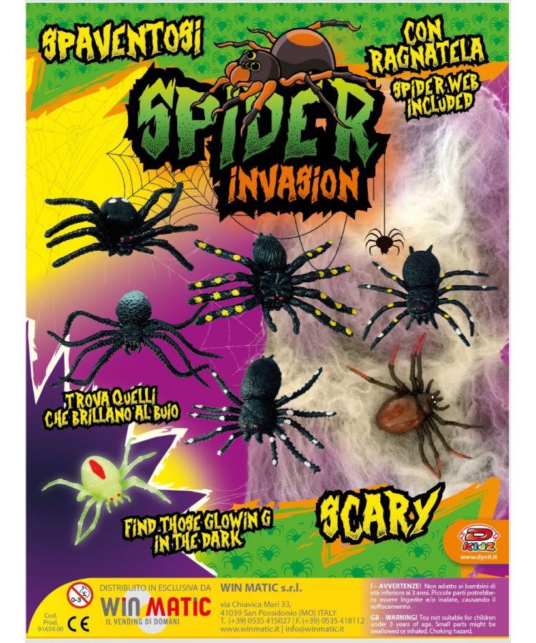 SPIDER INVASION